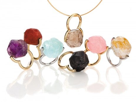 Rock Collection ring pendants
