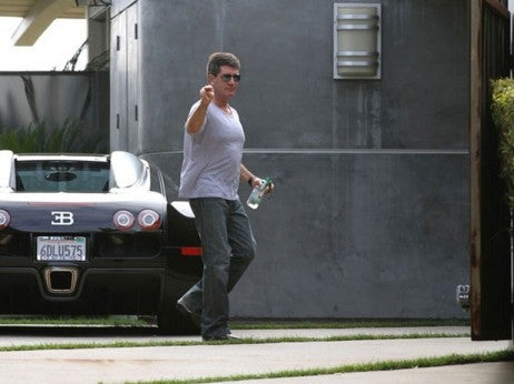 Simon Cowell - The highest profile buggati veyron owners