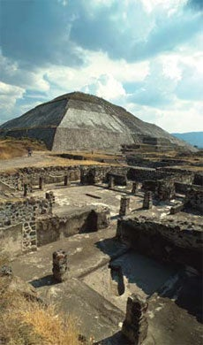 The Archaeological Zone Teotihuacan