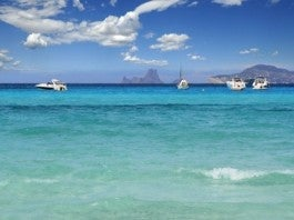 View of Ibiza from Formentera
