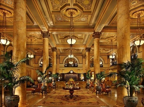 Lobby , the Willard Inter Continental washington