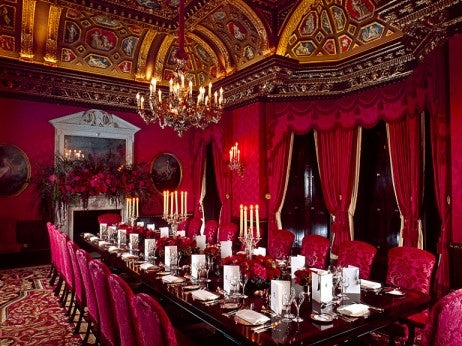 William Kent Room private dining table