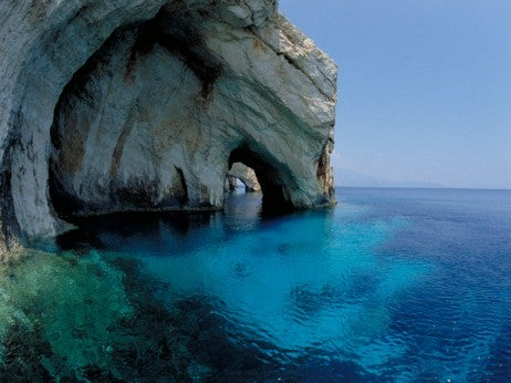 The Blue Caves