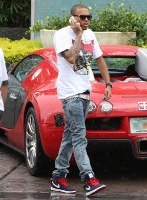 chris brown - The highest profile buggati veyron owners