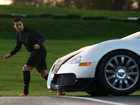 cristiano ronaldo - - The highest profile buggati veyron owners