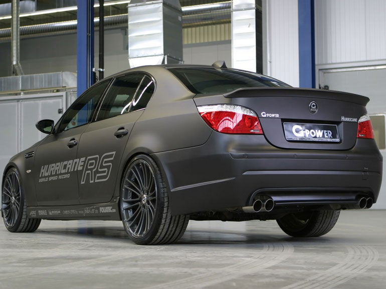 G Power Hurricane Rs Bmw M5 Hr 03 Elite Traveler