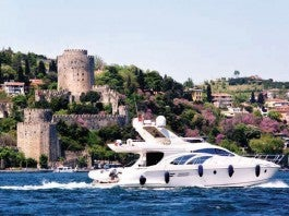 luxury yacht bosphoros