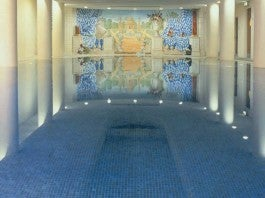 the Merrion Hotel, swimm ing pool