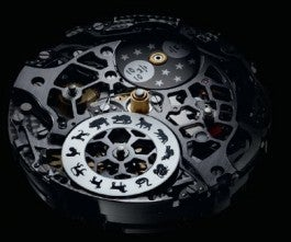 Villeret traditional chinese calendar movement / blancpain