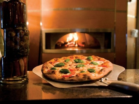Wood-oven pizza