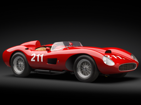 1957 Ferrari 625 TRC Spider c. Ron Kimball - the most expensive ferraris ever built