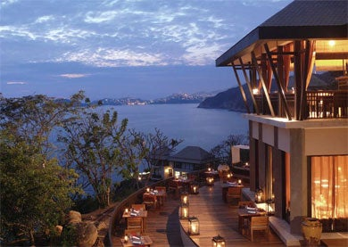 Asian-Inspired Design, Banyan Tree Cabo Marques