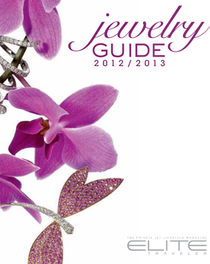 Elite Traveler Jewelry Guide 2012/2013