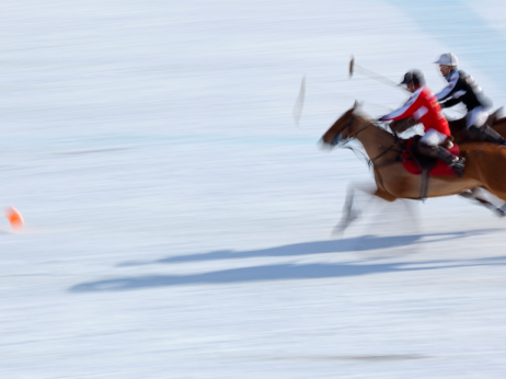 St Moritz Polo World Cup on Snow