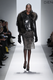 A look from Dennis Basso's FW13 collection