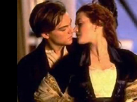 Leonardo do Caprio & Kate Winslet in Titanic
