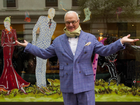 Manolo Blahnik at The May Fair Hotel
