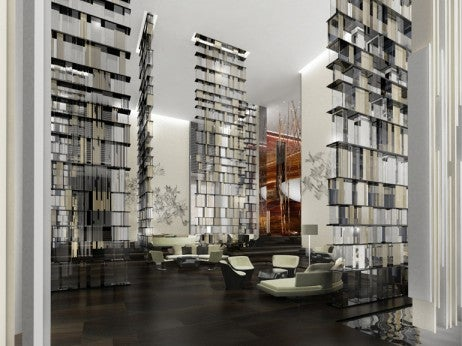 Living Room Rendering, W Guangzhou