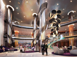 Lobby at Damac Towers by Paramount