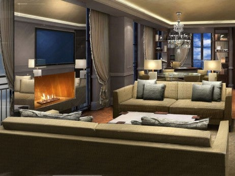 Presidential Suite Rendering, Capella Washington