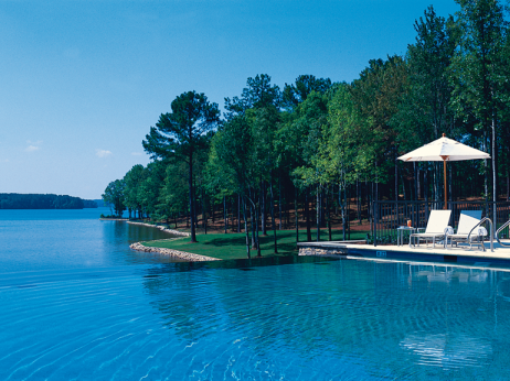 Ritz-Carlton Lodge, Reynolds Plantation infinity pool