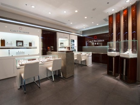 Carl F. Bucherer's Macau Boutique