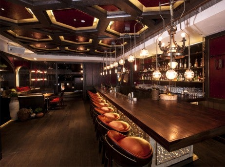 New York's AvroKo Designed the Bar at Catalunya Hong Kong