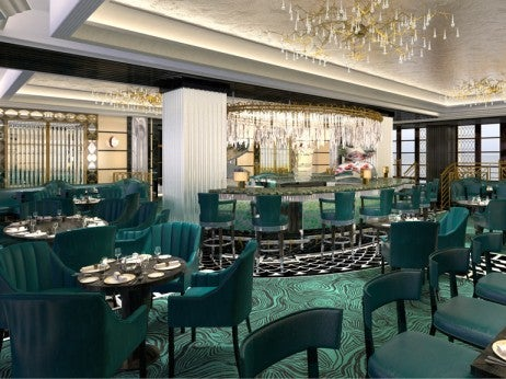 Rendering of Kaspar's Restaurant, Opening May 2, 2013