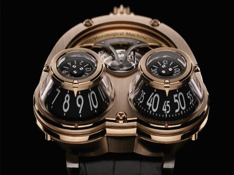 Face of MB&F's Red Gold MegaWind