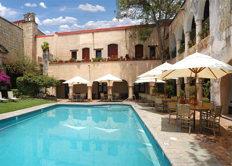 History legacy and luxury collide at quinta real hotels for Boutique hotel oaxaca