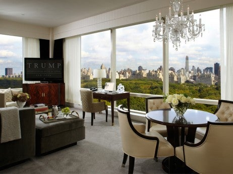 Suite at The Trump Hotel Central Park