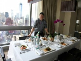 Trump SoHo in-room dining