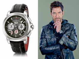 Dylan McDermott wearing Carl F. Bucherer