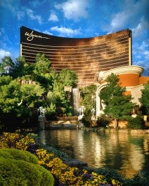 Wynn Las Vegas Sunlit Exterior photo by Robert Miller