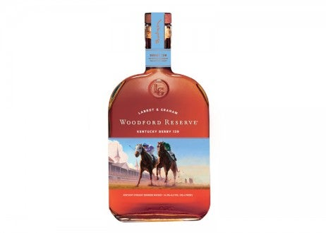 Woodford Reserve 2013 Kentucky Derby Commemorative Bottle