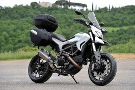 Ducati Hyperstrada, full dress