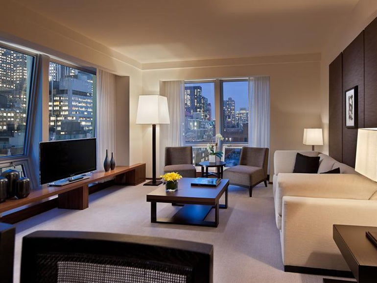 Langham Brings A Hint Of Britain To The New World Elite Traveler Cool Luxor One Bedroom Luxury Suite Ideas Design