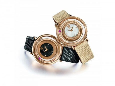 Venus Watches with Lizard Strap / Versace