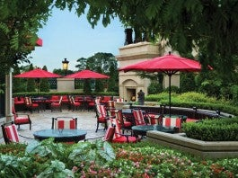 The St. Regis Bar & Wine Room Patio