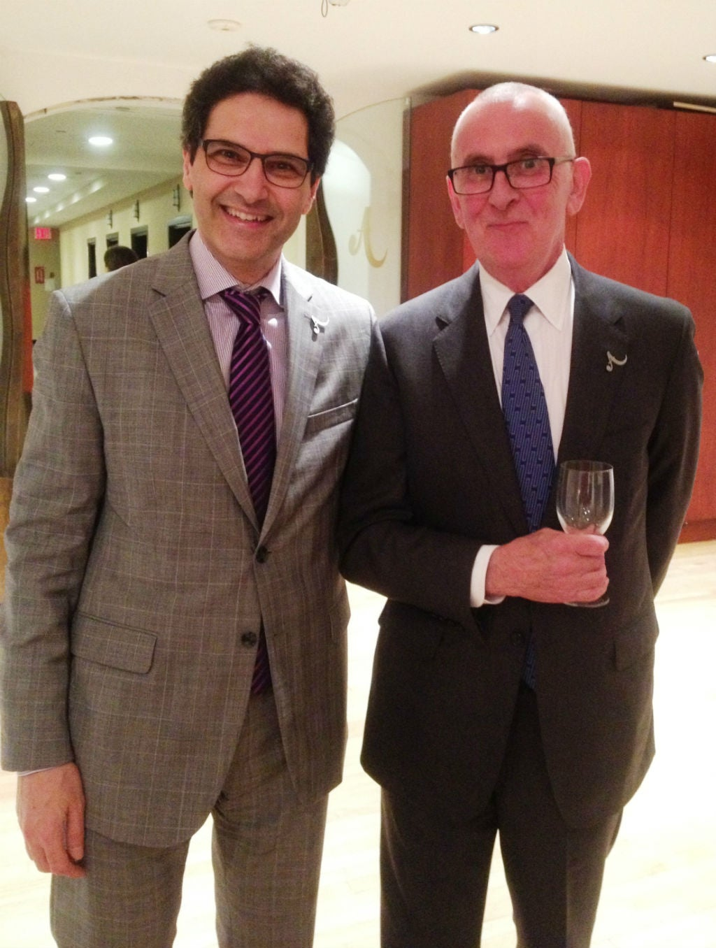 Antiquorum's Bruno Ayanian and David Jarrett
