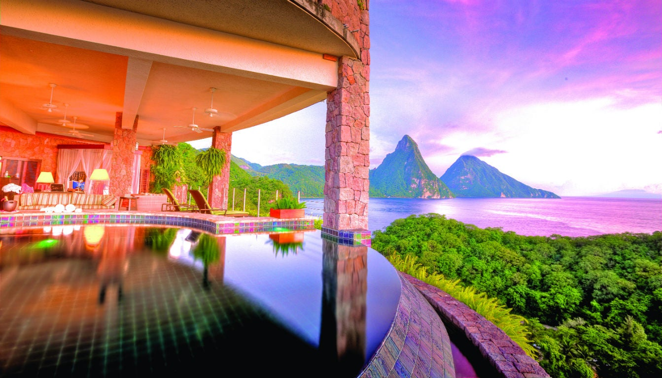 The 12 best hotel room views in the world elite traveler for Best accommodation