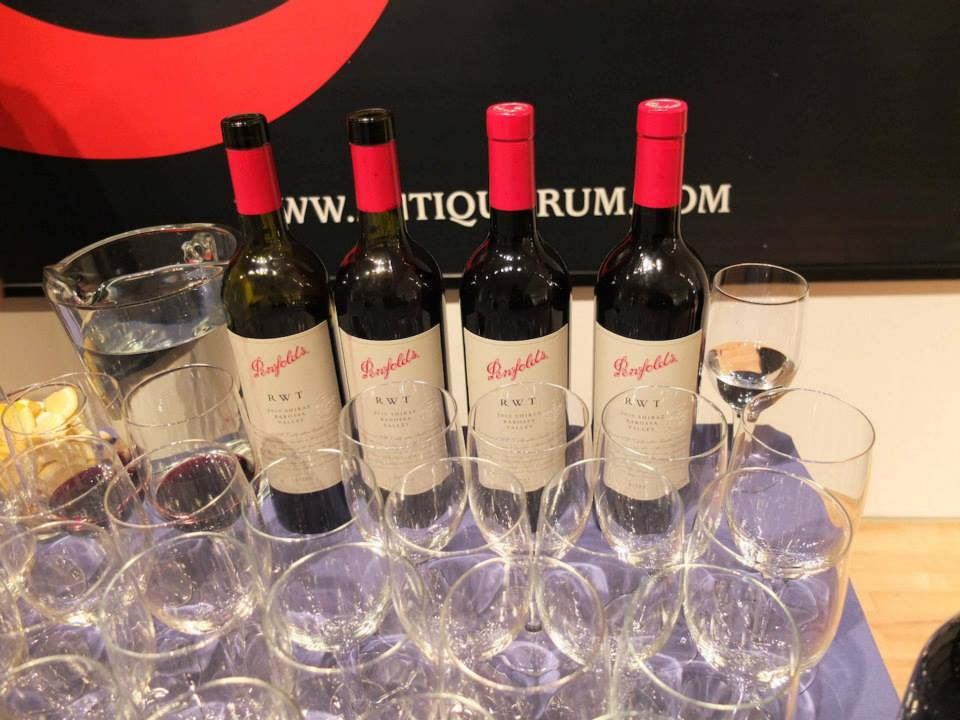 Penfolds RWT on display