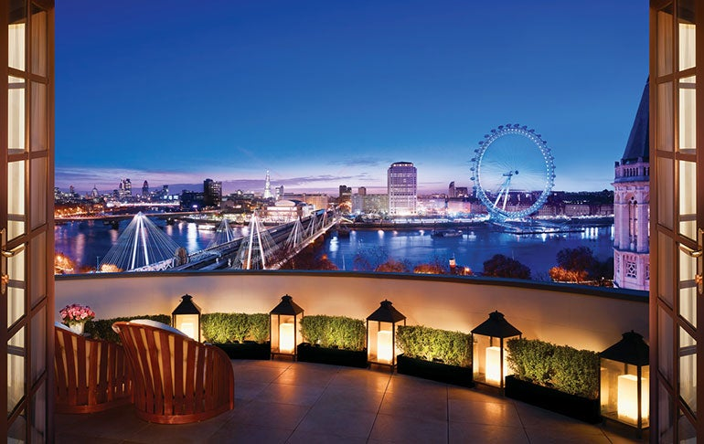 The 12 best hotel room views in the world elite traveler for Best modern hotels in london
