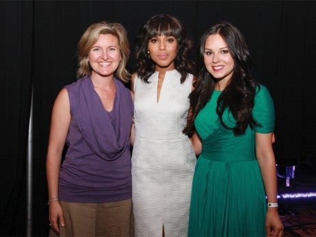Make-A-Wish's Tiffany, Kerri Washington, and St. Jude patient, Jessica