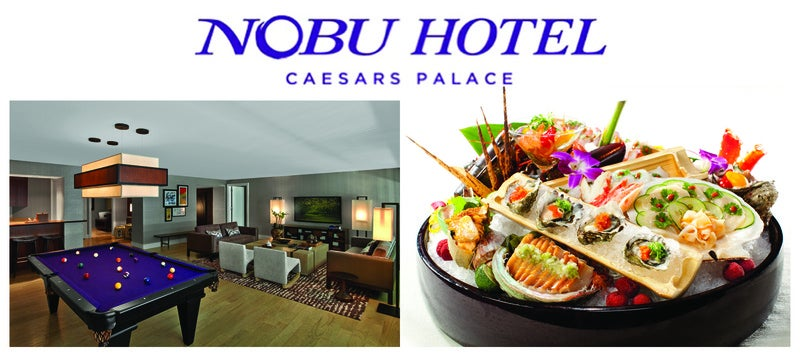 New Nobu Hotel Suites at Caesars Palace Now Available to