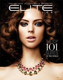 Elite Traveler Top 101 Suites 2013 Cover