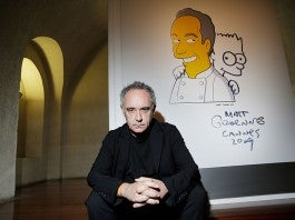 elBulli: Ferran Adria And The Art Of Food At Somerset House - Opening