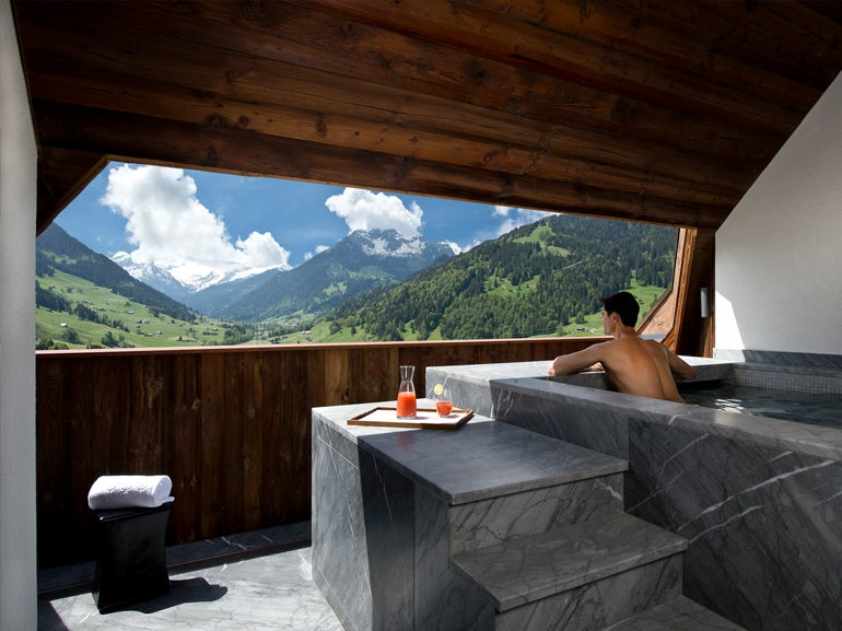 Gstaad Panorama Suite Web  The TOP 10 Hotel Suites in the World Gstaad Panorama Suite Web