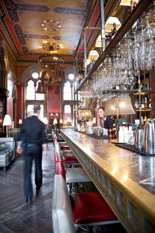The Gilbert Scott bar interior resized