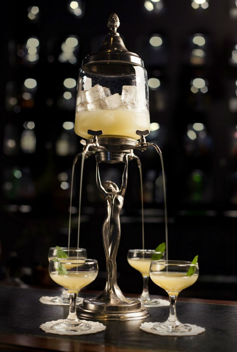 "The Versailles Experience"" is an elegant and refreshing cocktail ..."